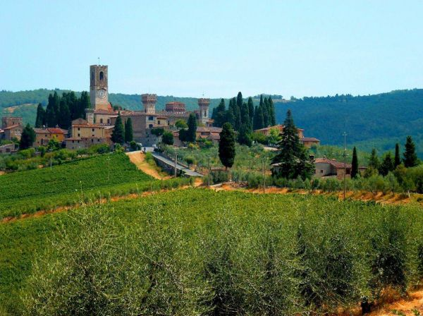Renting an e-bike in Chianti